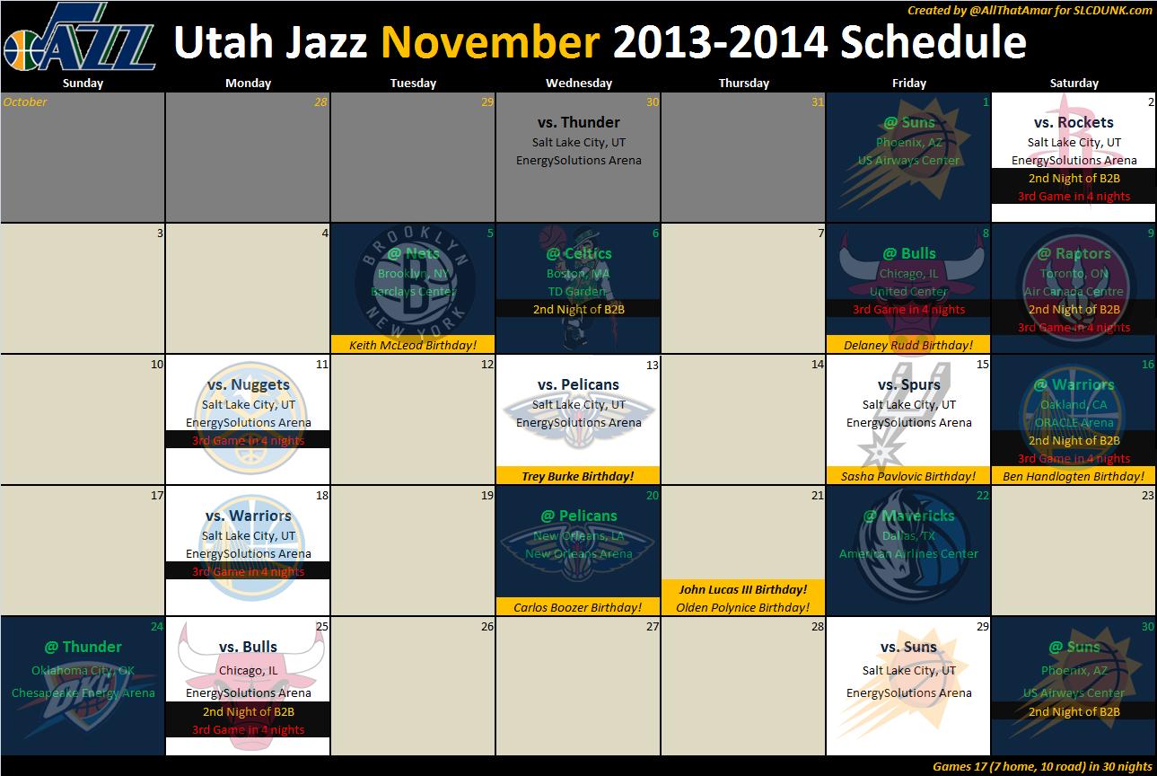 Jazz_2013_2014_schedule_ _02_nov_medium  Depth Chart Nba