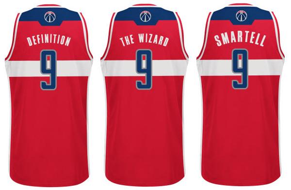 de2969ddd18 Imagining NBA nickname jerseys for the Wizards - Bullets Forever