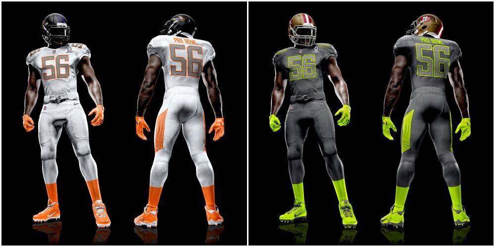 49ers New Uniforms 2014
