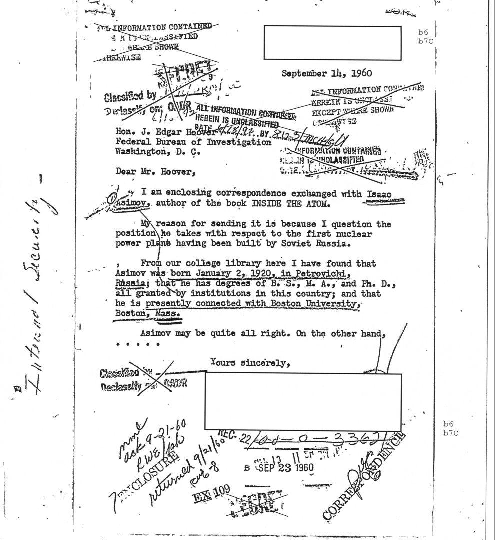 Asimov-letter