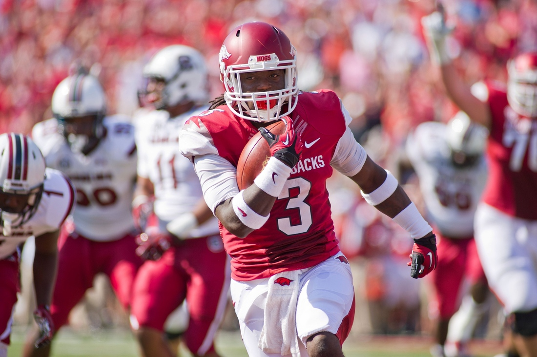 Arkansas RB Alex Collins
