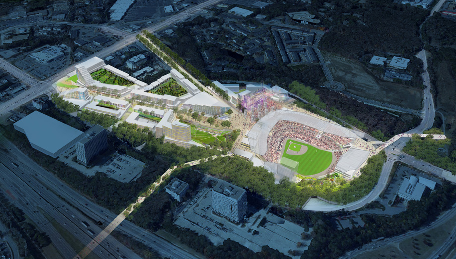 Photos Of Braves New Cobb County Stadium Released
