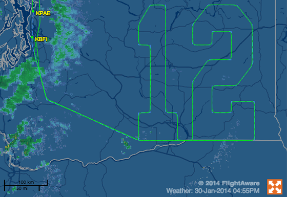 Flightaware-seattle-seahawks