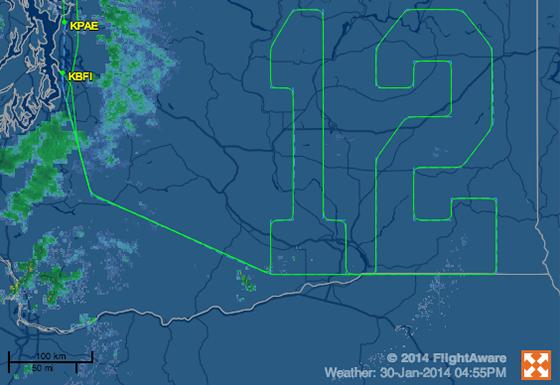Flightaware-seattle-seahawks