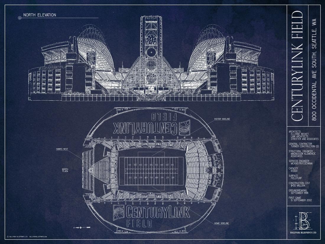 Centurylink field blueprint art field gulls centurylinkfinalsmall malvernweather Choice Image