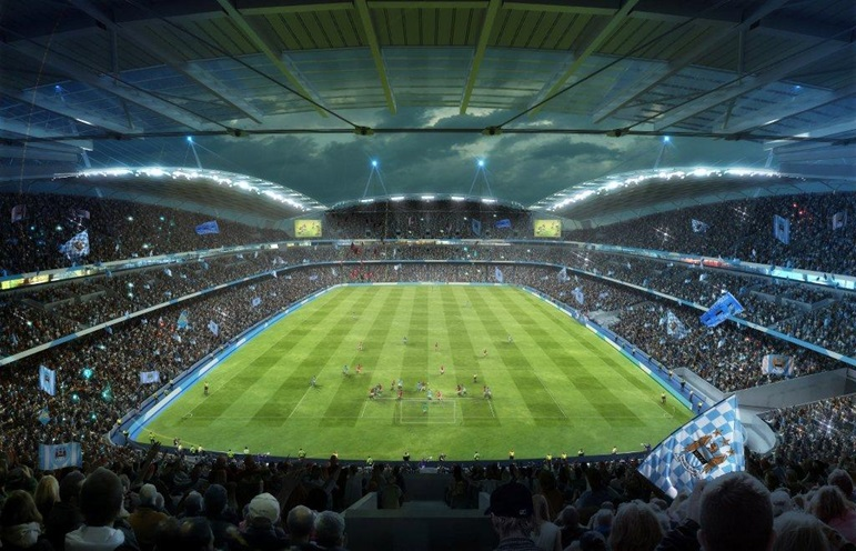 Manchester city to expand etihad stadium sbnation com