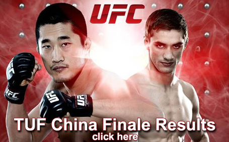 TUF China Finale Results