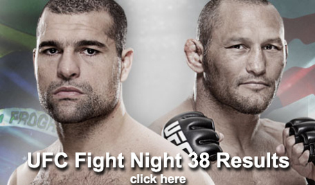 UFC Fight Night 38 Results