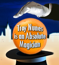 Troy Nunes Is An Absolute Magician