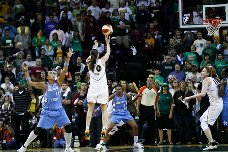 With all five of their starters returning, the Seattle Storm figure to be among the WNBA's best teams once again. But can they repeat as champions? Photo by Kailas Images.