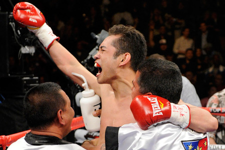 Bob Arum expects that Nonito Donaire will be in the news this coming week. (Photo by Ethan Miller/Getty Images)