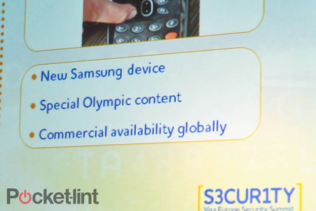 Samsung Olympics Phone