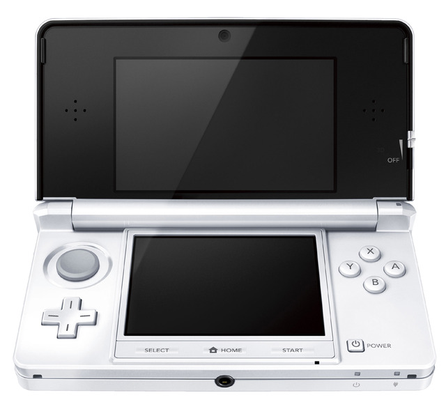 Ice White Nintendo 3DS