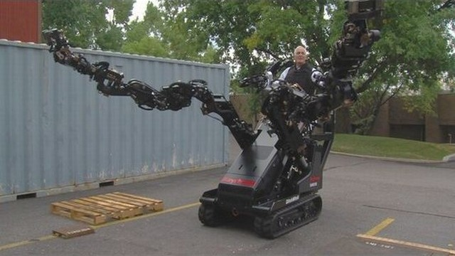 Raytheon Robot Arms by KSL-TV