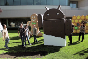 Ice Cream Sandwich statue