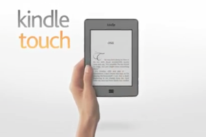 Amazon Kindle Touch Official Demo Video