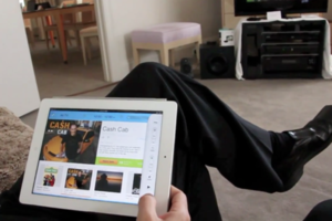 Logitech Harmony Link for iPad hands-on video
