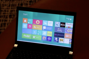Windows 8 on a laptop