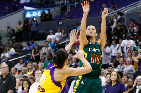 Los Angeles Sparks veteran Ticha Penicheiro has been a model of point guard