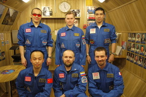 Mars500 crew