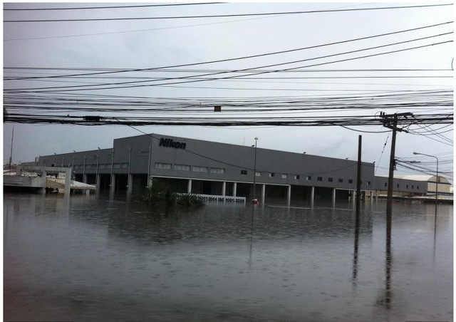 Nikon factory flood
