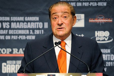 Bob Arum's having a big week. (Photo by Patrick McDermott/Getty Images)