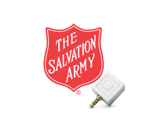 Salvation Army and Square Reader