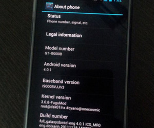 Ice Cream Sandwich on the Galaxy S