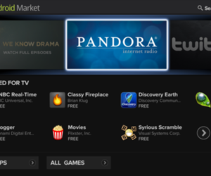 google tv android market