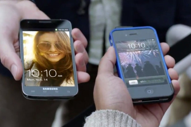 samsung galaxy s ii advert