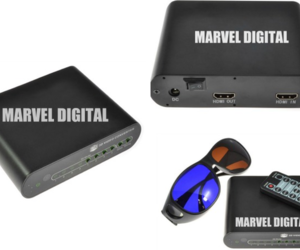 Marvel Digital 3D Converter