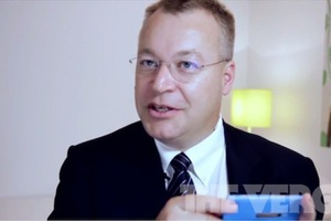 Stephen Elop Interview Cyan Lumia