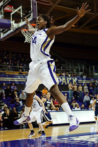 University of Washington forward Mollie Williams -- and her athleticism -- is part of a defensive unit off the bench that has helped to keep teams off balance and disrupted their offense. Photo via jlindstr.smugmug.com