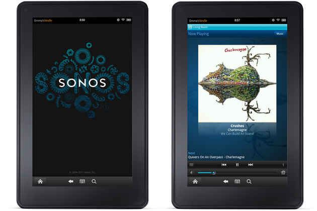 Kindle Fire Sonos