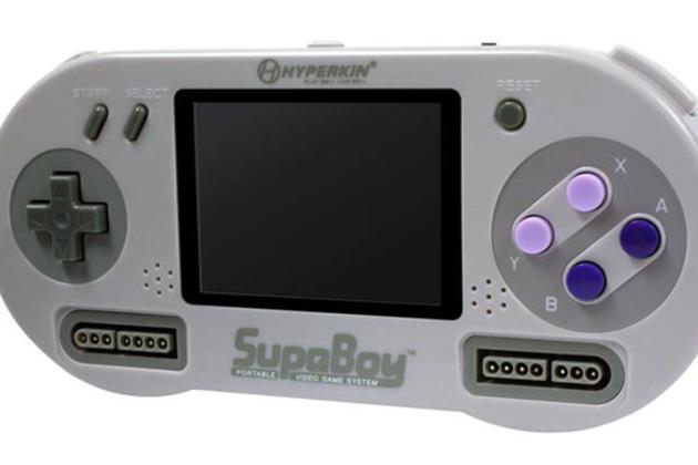 SupaBoy Handheld SNES Console