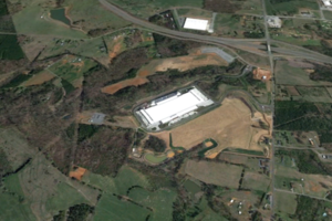 Apple North Carolina Data Center (Google Earth)