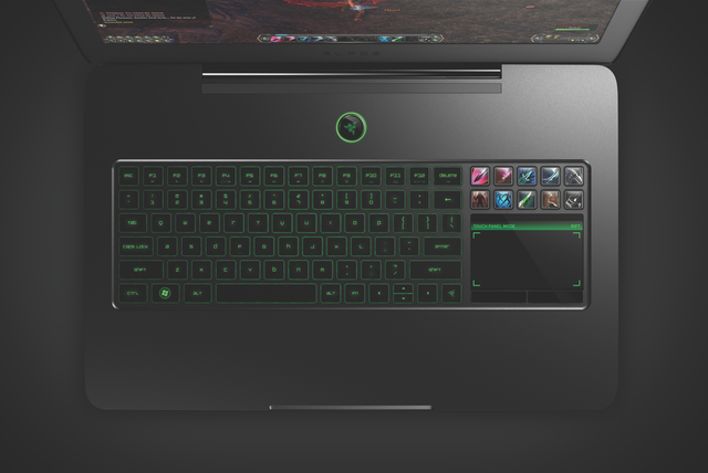 Razer Blade laptop press 1200x800