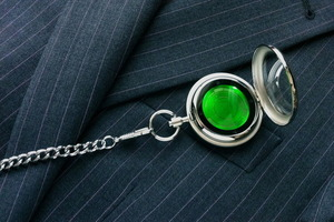 tokyoflash kisai touch pocket watch