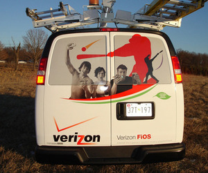 Verizon truck