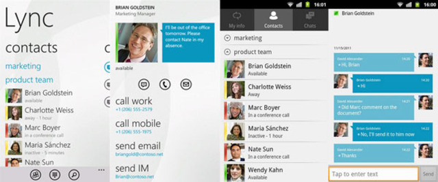 Microsoft Lync Multiplatform 600