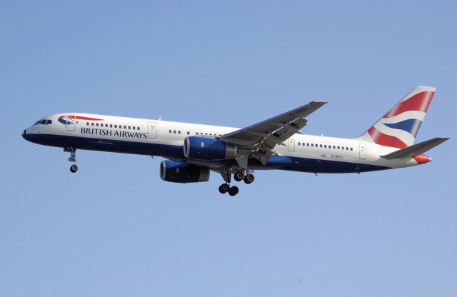 British Airways aircraft (public domain)