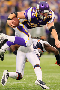 This just in, Toby Gerhart can fly. What now, Tebow?