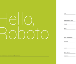 Roboto Font