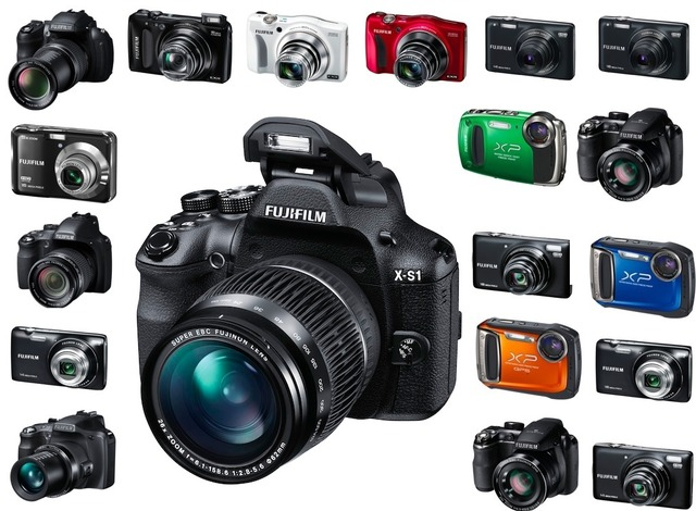 Fuji X-S1 and camera line