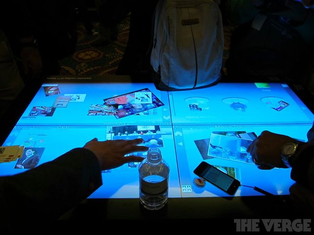3M Multitouch Table