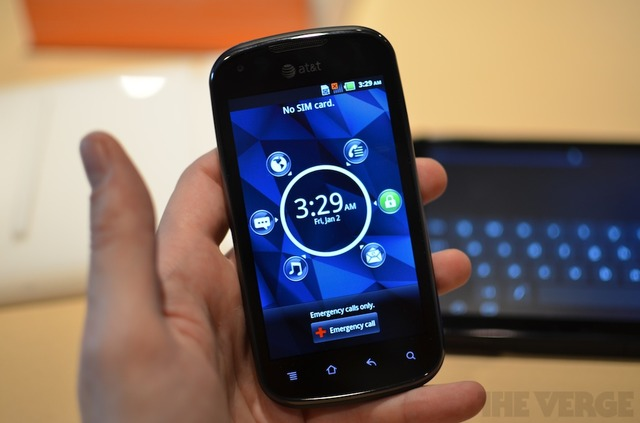 LTE phones at CES 2012