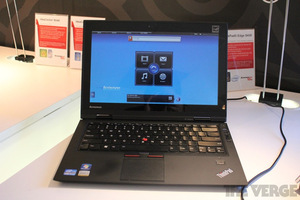 Gallery Photo: Lenovo ThinkPad X1 Hybrid hands-on