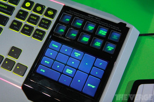 "Gallery Photo: Razer's touchscreen ""Star Wars: The Old Republic"" keyboard hands-on pictures"