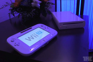 Wii U hardware and flowers