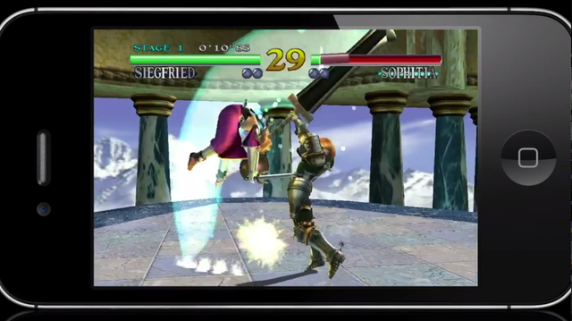 soul calibur iphone